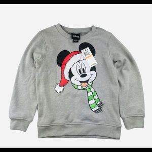 Disney Mickey Mouse Holiday Sweatshirt